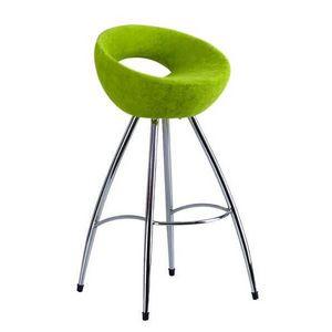 Mathi Design - tabouret de bar cercle - Chaise Haute De Bar