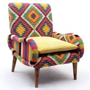 Mathi Design - fauteuil kilim tirkan - Fauteuil