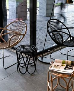 saturne 44 fauteuil rose burov decofinder. Black Bedroom Furniture Sets. Home Design Ideas
