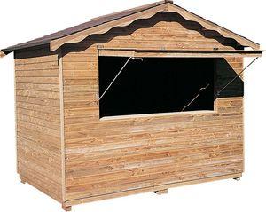 Cihb - abri en bois type stand - Abri De Jardin Bois