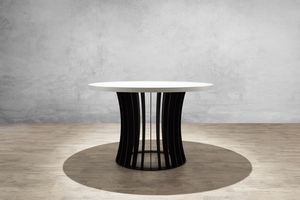 MBH INTERIOR - aeolion ronde 160 - Table De Repas Ronde