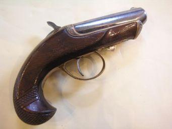 Aux Armes d'Antan - deringer williamson - Pistolet Et R�volver