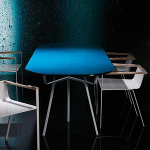 Bleu Nature - saa - Table De Repas Rectangulaire