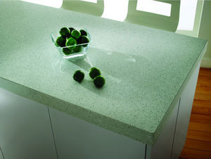 SILESTONE et ECO BY COSENTINO - eco white diamond - Plan De Travail