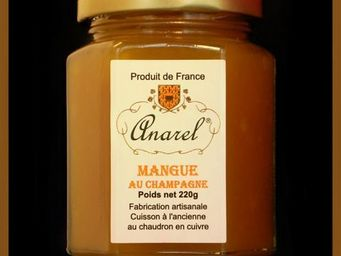 ANAREL - mangue au champagne - Confiture