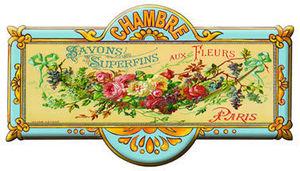 Cartexpo - superfins aux fleurs - Plaque De Porte Enfant