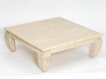 Marbrerie Rouillon - ming - Table Basse Carrée