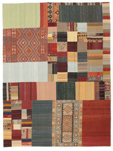 CARPETVISTA.COM - kilim patchwork carpet 350x258 - Tapis Contemporain