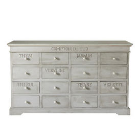 Comptoir saint r my meuble tiroirs maisons du monde for Maison du monde meuble