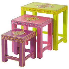Table Basse Gigogne Enfant Roulotte Table Basse Forme Originale
