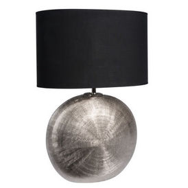 lampe silver dandy lampe poser maisons du monde. Black Bedroom Furniture Sets. Home Design Ideas