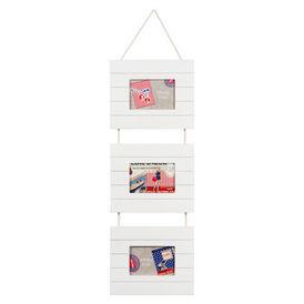 Cadre triple blanc bois latte cadre triptyque maisons for Maisons du monde email