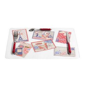 Set de table carte postale set de table maisons du monde - Carte cadeau maison du monde ...