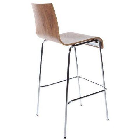tabouret de bar en cuir et chaise type design italien l. Black Bedroom Furniture Sets. Home Design Ideas
