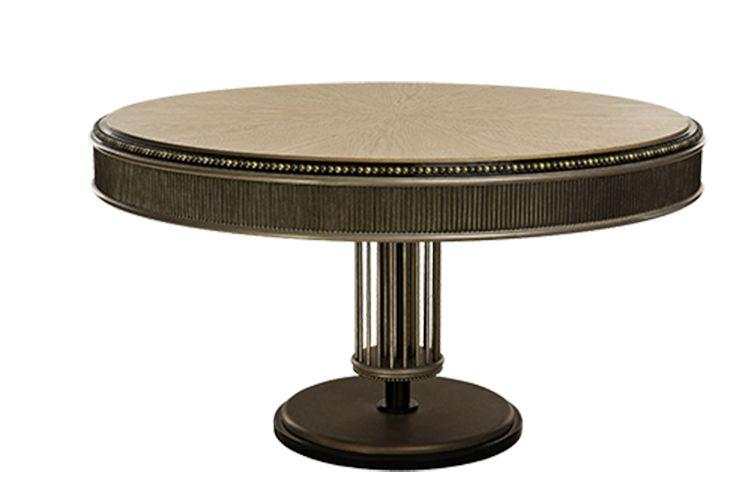 perlage table de repas ovale bois mari ianiq decofinder. Black Bedroom Furniture Sets. Home Design Ideas