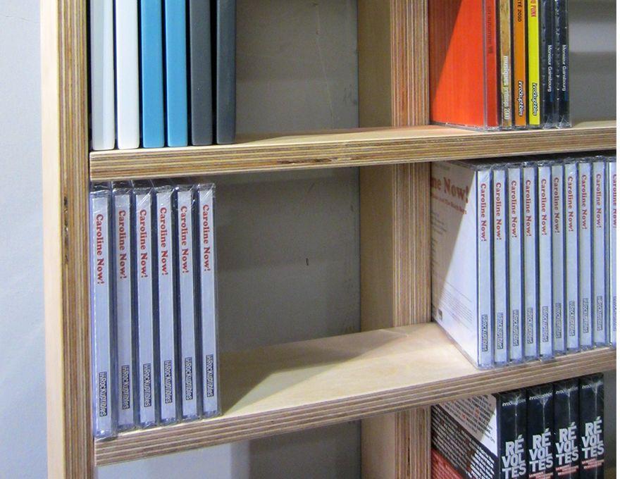 Etag re murale wall disc biblioth que modulable - Etagere murale bibliotheque ...