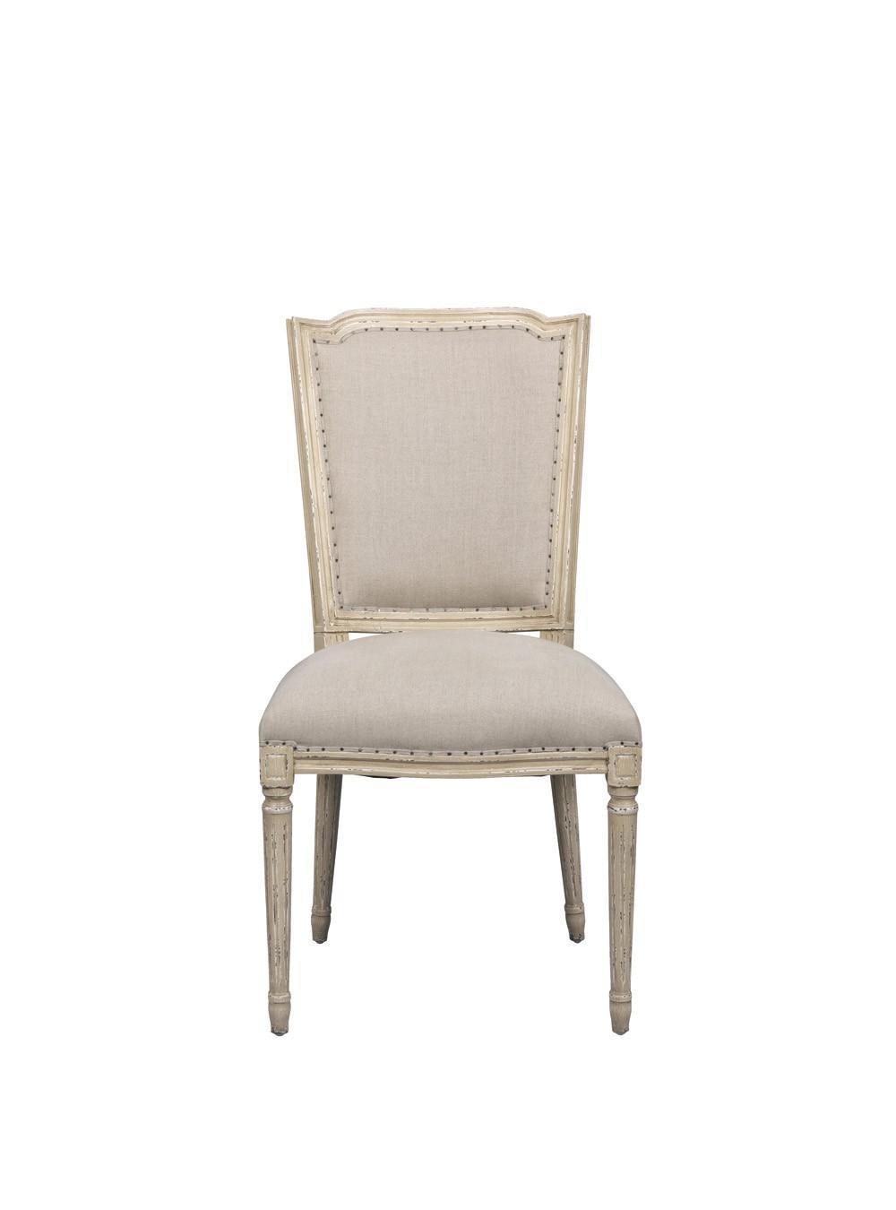 Amelie chaise blanc d 39 ivoire decofinder - Chaise blanc d ivoire ...