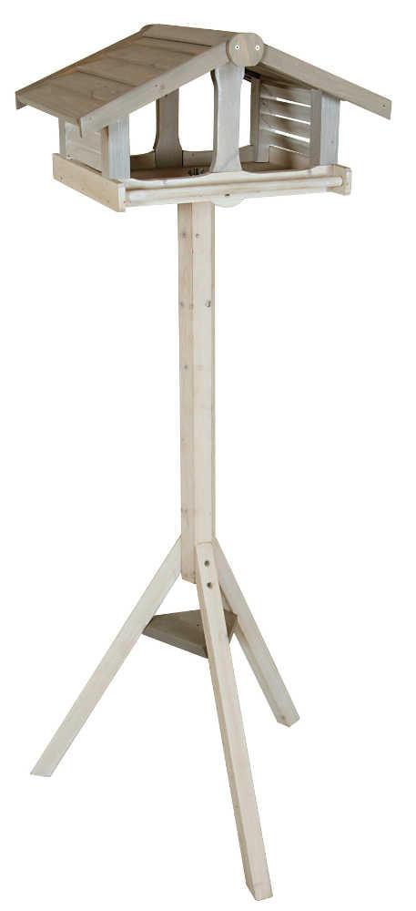 mangeoire sur pied atlantic en bois 46x36x130cm. Black Bedroom Furniture Sets. Home Design Ideas