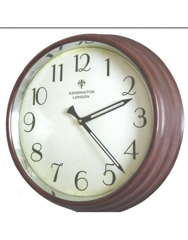 Horloge de style gare vitr e horloge murale - Horloge de gare murale ...