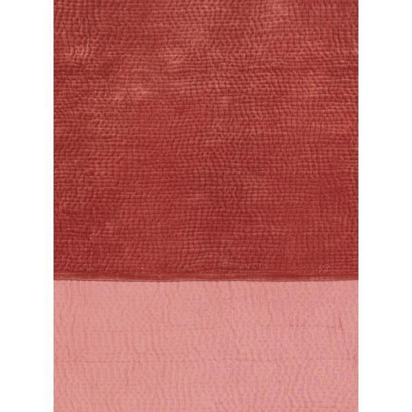 cesar boutis velours boutis rose blanc d 39 ivoire decofinder. Black Bedroom Furniture Sets. Home Design Ideas