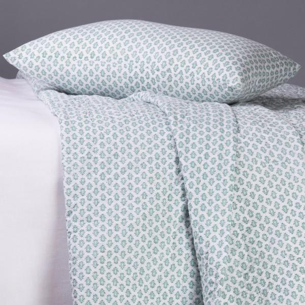 Coussin jaipur jade jet de lit blanc d 39 ivoire for Lit blanc d ivoire