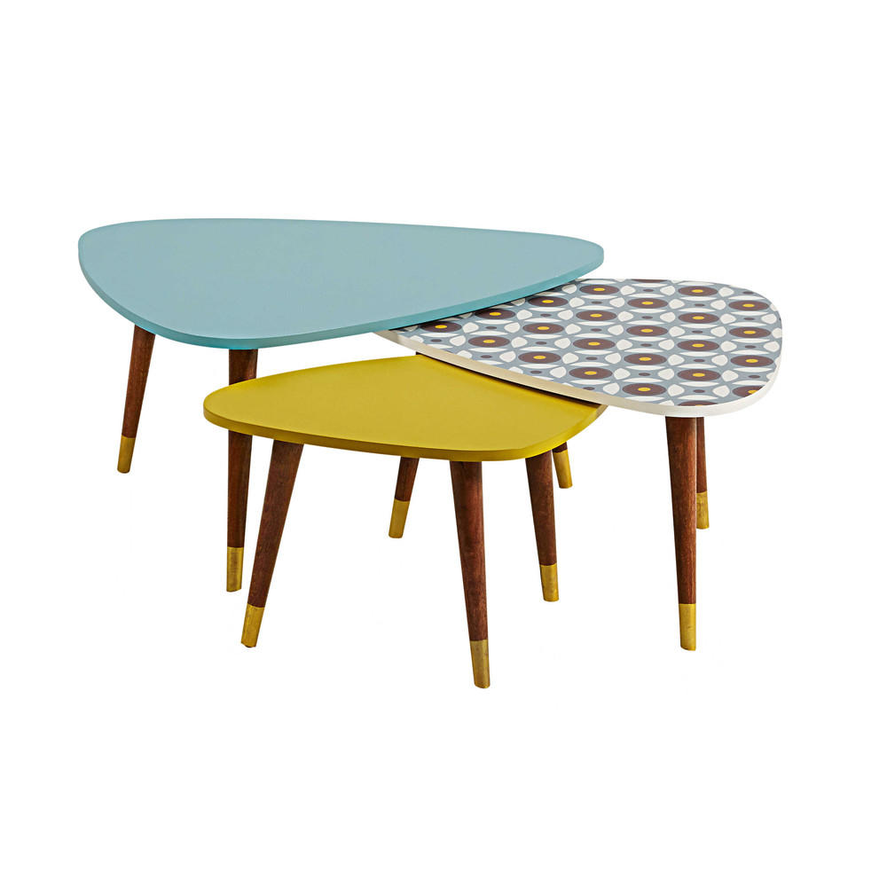 Lucett tables gigognes maisons du monde decofinder for Table maison du monde
