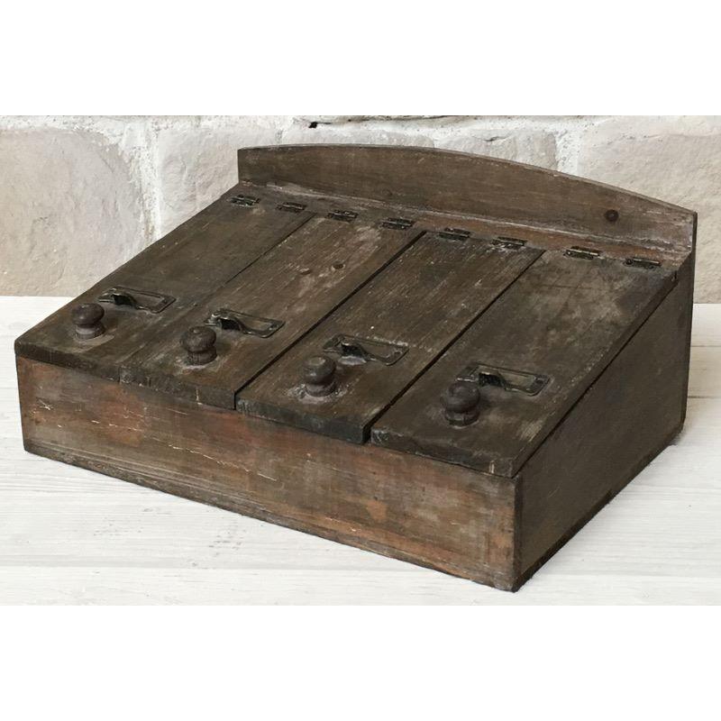 grande bo te de rangement coffre coffret casier range. Black Bedroom Furniture Sets. Home Design Ideas