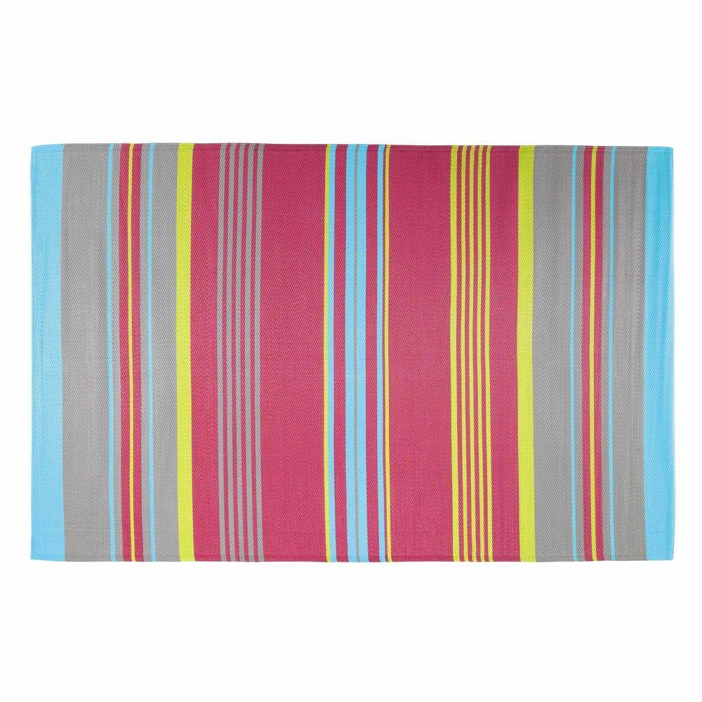 tapis d 39 ext rieur en polypropyl ne multicolore 180x270. Black Bedroom Furniture Sets. Home Design Ideas