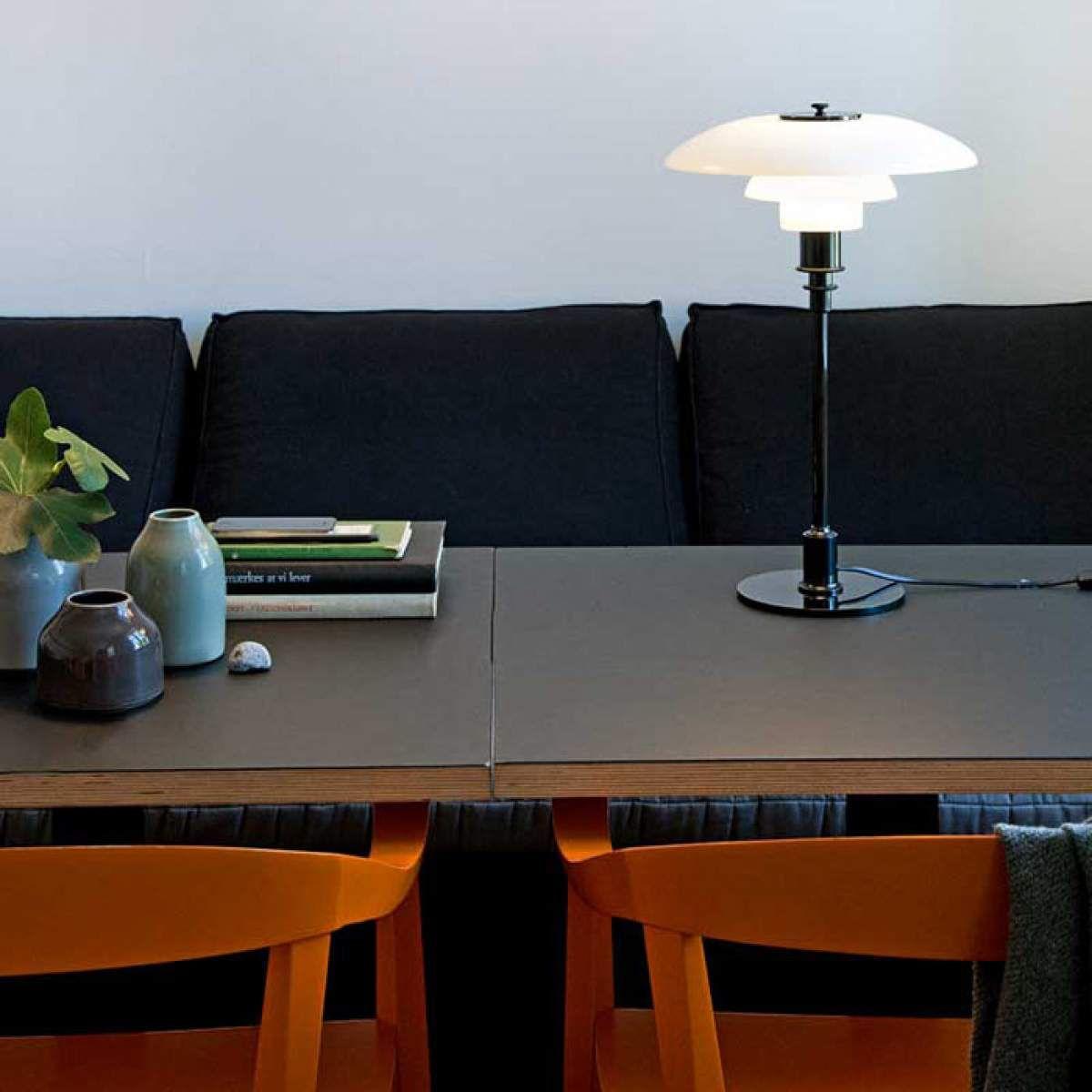 louis poulsen ph 3 2 lampe poser noirelampe poser. Black Bedroom Furniture Sets. Home Design Ideas