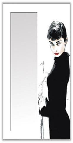 Decoratessen - Miroir-Decoratessen-34 Audrey Hepburn