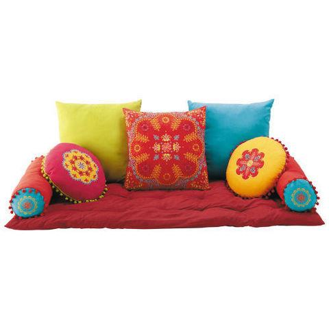roulott coussin de sol maisons du monde decofinder. Black Bedroom Furniture Sets. Home Design Ideas
