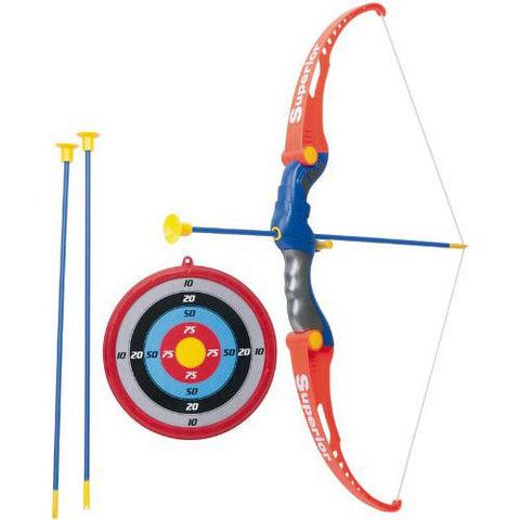 WDK Groupe Partner - Jeu de société-WDK Groupe Partner-Set de tir à l'arc avec cible arc et flèches