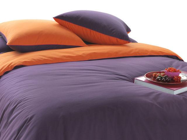 BLANC CERISE - Housse de couette enfant-BLANC CERISE-Housse de couette - percale (80 fils/cm²) - bicolo