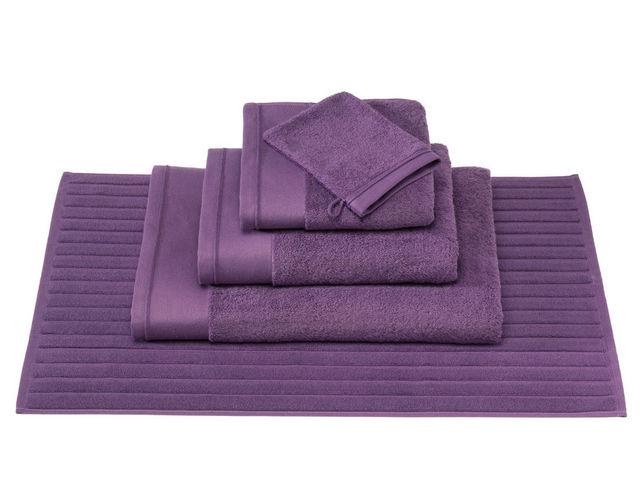BLANC CERISE - Tapis de bain-BLANC CERISE-Tapis de bain - coton peigné 1000 g/m²