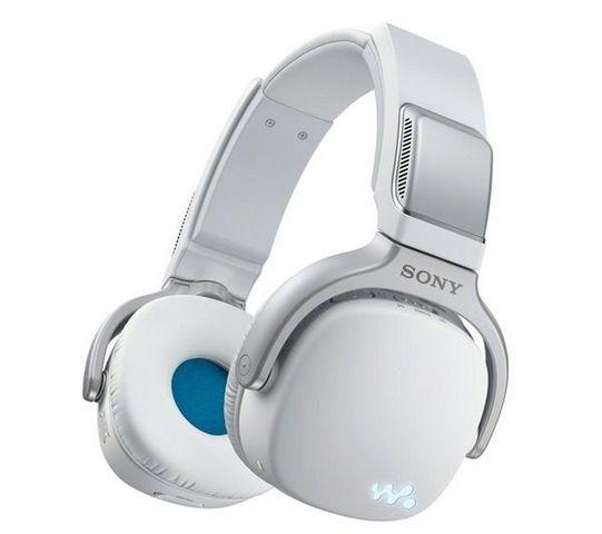 SONY - MP3-SONY-NWZ-WH303 - 4 Go - blanc - Casque 3-en-1