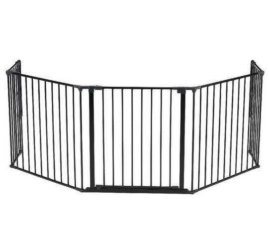 BABYDAN - Barrière de sécurité enfant-BABYDAN-Barrire de scurit modulable Flex XL - noir