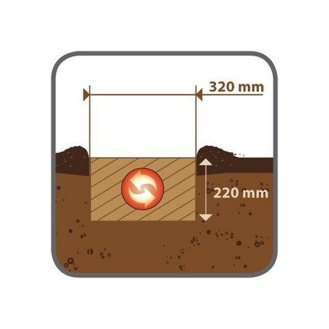 FARTOOLS - Motoculteur-FARTOOLS-Motobineuse électrique 1050 Watts Fartools