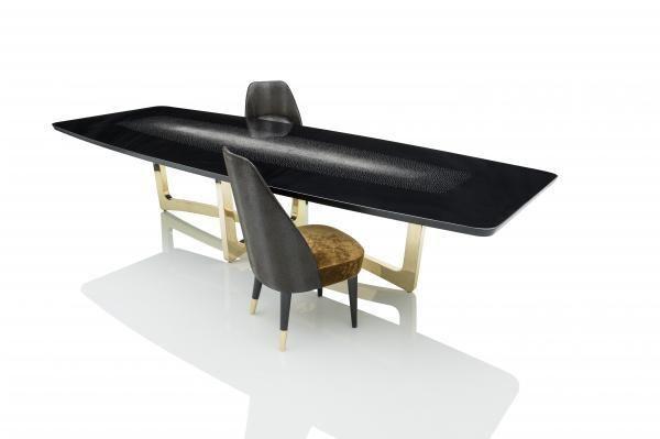 JNL - UNGARO - Table de repas rectangulaire-JNL - UNGARO