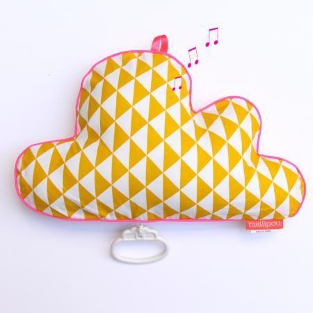 mellipou - Coussin musical-mellipou