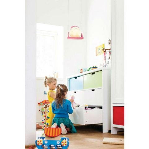 Philips - Suspension Enfant-Philips-BUDDY SWING - Suspension Bonhomme Balançoire Bleu