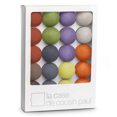 LA CASE DE COUSIN PAUL - Guirlande lumineuse-LA CASE DE COUSIN PAUL-TOKYO - Coffret Guirlande lumineuse Bleu/Vert/Roug