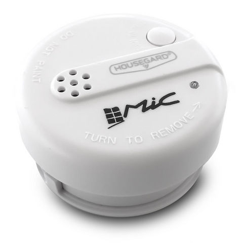 HOUSEGARD - Alarme détecteur de fumée-HOUSEGARD-Mini détecteur de fumée Housegard (siglé Mic)