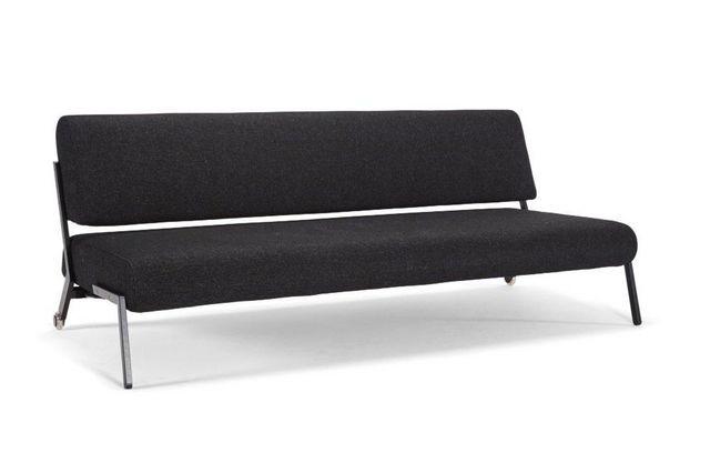 INNOVATION - Banquette clic clac-INNOVATION-Canapé lit design DEBONAIR BLACK noir convertible