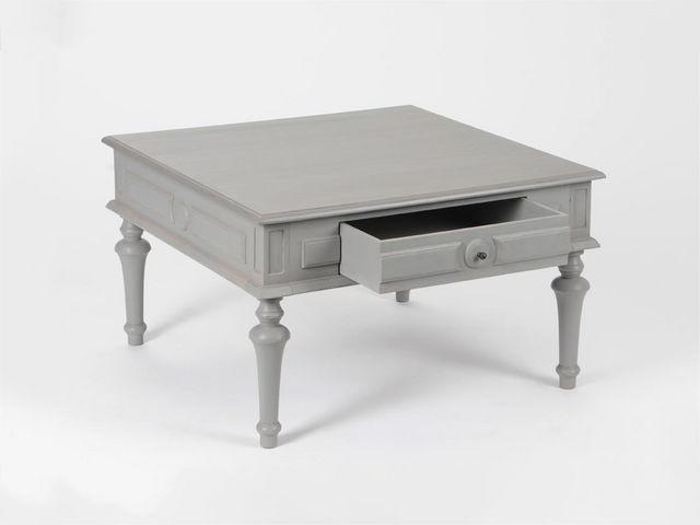 Amadeus - Table basse carrée-Amadeus-Table basse ANSELME - Gris