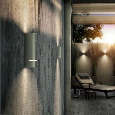 Philips - Applique d'extérieur-Philips-Luminaire extérieur Sunset LED H19 cm IP44