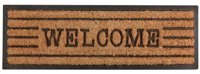 Esschert Design - Paillasson-Esschert Design-Tapis en fibres de coco inscription Welcome