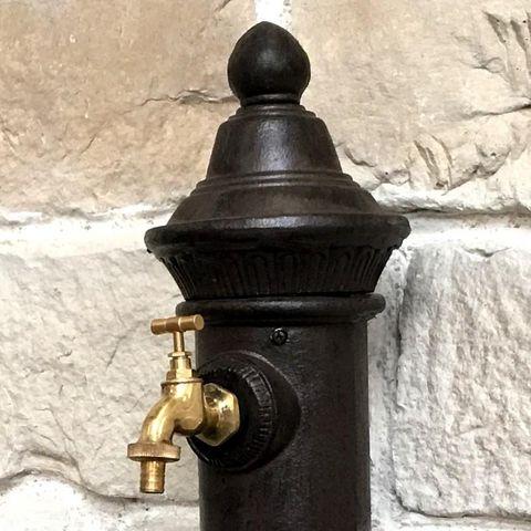 CHEMIN DE CAMPAGNE - Fontaine centrale d'extérieur-CHEMIN DE CAMPAGNE-Style Ancienne Fontaine avec Robinet de Jardin 72