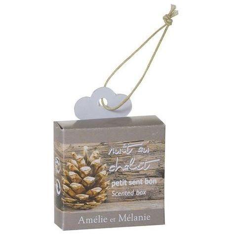 Amelie et Melanie - Sachet parfumé-Amelie et Melanie-Nuit au chalet