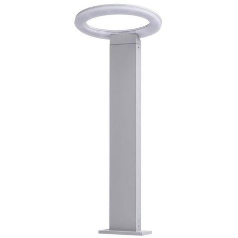 Lampe de jardin futuriste anneau led blanche lampe de jardin led blanc m tal mw light - Lampe de jardin led ...