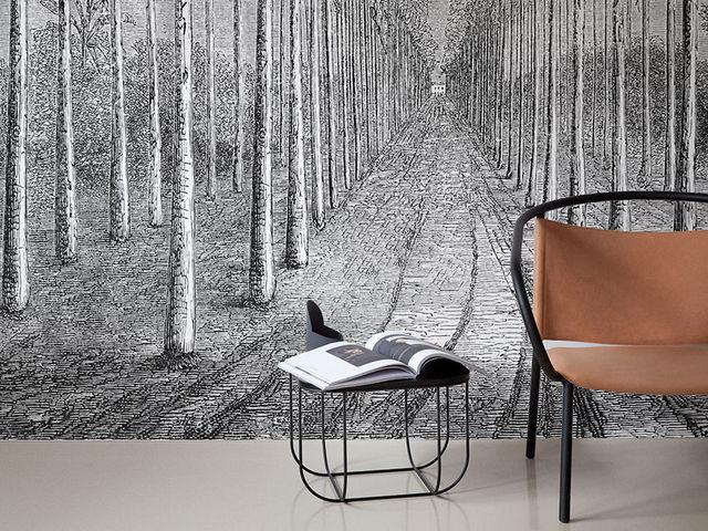 INKIOSTRO BIANCO - Papier peint panoramique-INKIOSTRO BIANCO-Palmeraie